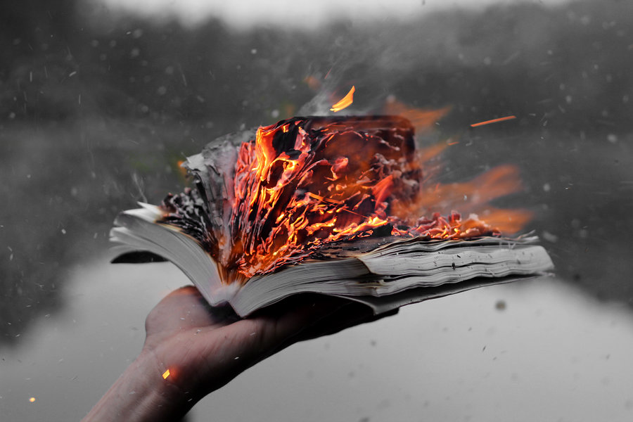 the_burning_of_the_holy_book_on_the_black_lake_by_valentietokyo-d6hmpkr