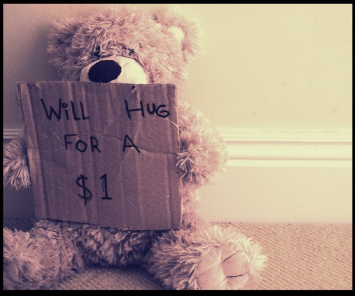 Will Hug For A Dollar, por PhotosByMeR93 http://photosbymer93.deviantart.com/art/Will-Hug-For-A-Dollar-148852110