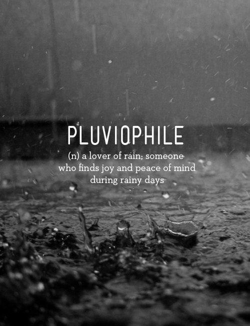 Pluviofilia